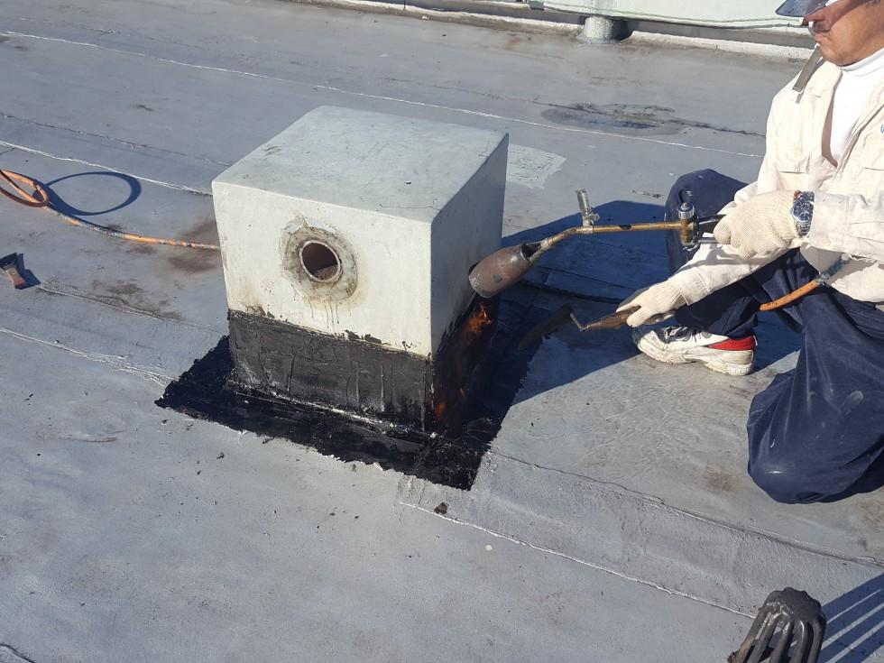 アスファルト防水補修